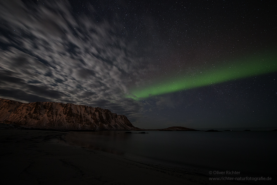Aurora Borealis - Nordlicht, Polarlicht, Norwegen, Tromsö, Polar light, Northern light, northern lights, Lofoten